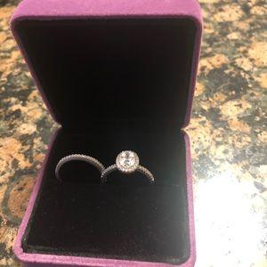 925 bridal ring